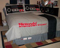 Nintendo bed!!