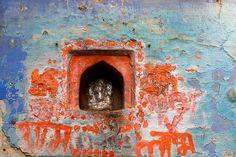 Sanjay Nanda - little Ganesh niche altar