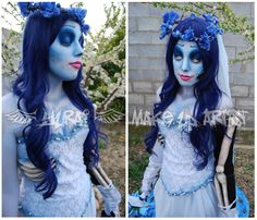 Corpse Bride Make Up by *Yurai-cosplay on deviantART    http://yurai-cosplay.deviantart.com/art/Corpse-Bride-Make-Up-160725600