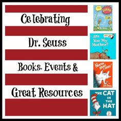 Books, events & resources celebrating Dr. Seuss!