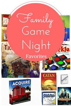 Family Game Night Fa