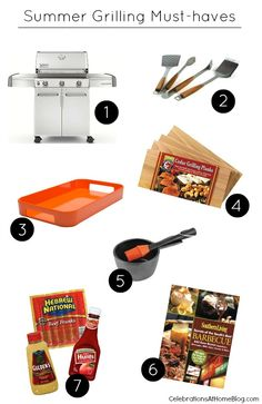 TOP PICKS FOR SUMMER GRILLING + RECIPE