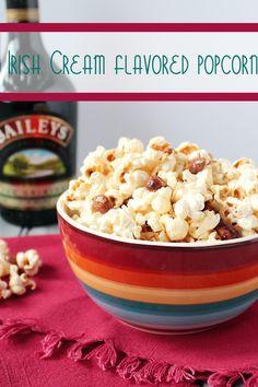 Irish Cream Flavored Popcorn | Cooking on the Front Burner #popcorn #irishcream