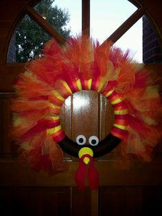Thom the Turkey wreath