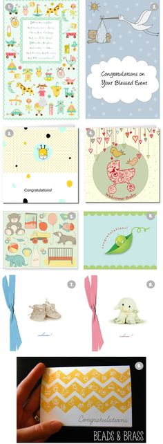 """9 Free """"Welcome Baby"""" Printable Cards - The Frugal Female"""