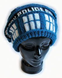 Knitting Pattern Tardis Hat : Doctor Who Related Crafts and Thingiemaggigers. on Pinterest Tardis, Doctor...