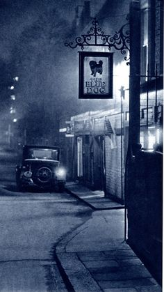 Pictures from London Night – John Morrison and Harold Burked in 1934