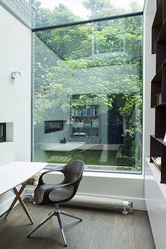Glass window | skylight detail Alwyne Place | Lipton Plant Architects