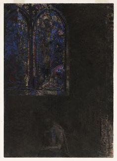 The Window  Odilon Redon (French, 1840–1916)