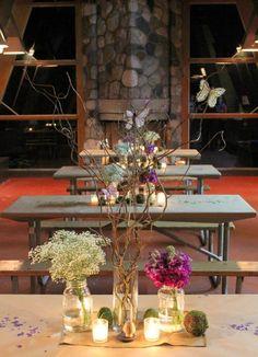 HWTM Woodland Party decor