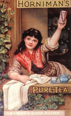 Hornimans Tea | Drink retro advert | Vintage poster #Affiches  #Ads #SXX #Publicidad