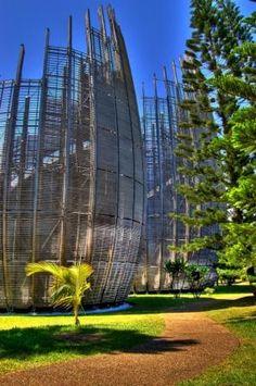 Jean-Marie Tjibaou Cultural Centre by Renzo Piano - Nouméa, New Caledonia