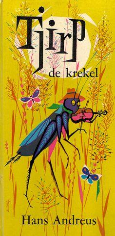Tjirp de Krekel, 1961. Art by Babs van Wely