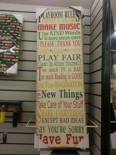 Wanna make this for kids playroom...