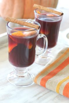 Cinnamon Orange Mulled Wine