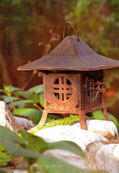 Metal Japanese Garden Lantern