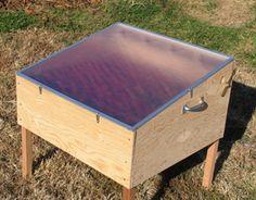 Homemade Solar dehydrator