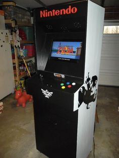 Super Nintendo Arcade - AWEsome, I want one in my house