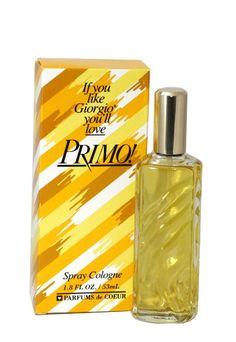 Primo By Parfums De Coeur For Women. Cologne Spray 1.8-Ounce Bottle - List price: $17.99 Price: $10.98 Saving: $7.01 (39%)
