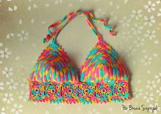 Top Cropped de Crochê por Bruna Szpisjak | http://www.brunacrochetdesigner.com/