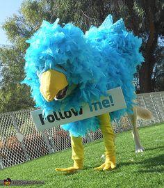 Disfraz de Twitter.