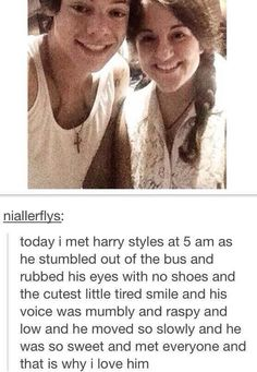 This is the real Harry Edward Styles not the womanizer the media says he is..