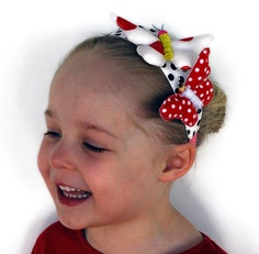Happy Butterfly Headband hair ornament / adornment by MissAdorable, $22.50