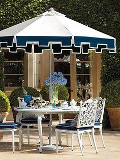 Dine or entertain in your new elegant backyard.