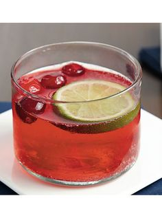 10 Delicious Non-Alcoholic Drink Recipes: Cranberry and Ginger Tea Punch