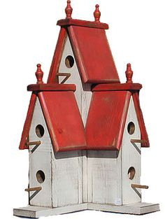 White/ red roof - need to make
