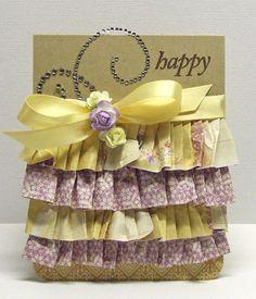 Make paper ruffles!