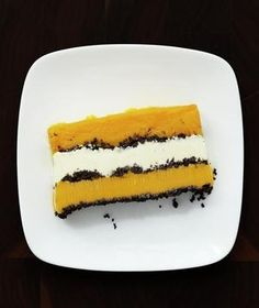 Vanilla Mango Ice Cream Cake:  To save time, you can cover and freeze the cake up to three days in advance.