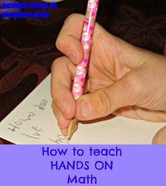 How to teach hands on math
