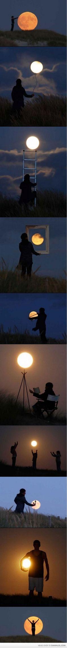 creativ, idea, moon, favorit photographi, art, beauti, fun, awesom, phase