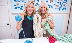Arm Knitting Infinity Scarf Home & Family - Tips & Products - Arm Knitting with Kym Douglas   Hallmark Channel