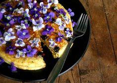 wildflowers, cakes, spring weddings, food, pizza, violet, edibl flower, cooking, edible flowers