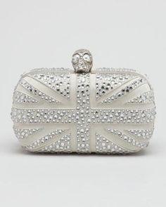 Alexander McQueen clutch  | More here: http://mylusciouslife.com/wishlist-buy-glamorous-clutch-bags-online/