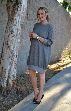 HATCH sweatshirt dress #pregnancy #maternity