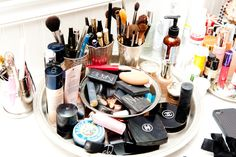 decor, vaniti vignett, makeup organis, style, dream, beauti product, girl thing, closet, hair