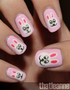 The Bloomin' Couch: Easter nail art inspiration