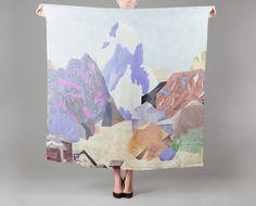 Milleneufcentquatrevingtquatre Multicolor Cervin Silk Square on sale at L'Exception