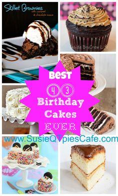 43 Best Birthday Cakes Ever!