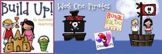 Build Up to Summer Learning: Week 1 Pirate