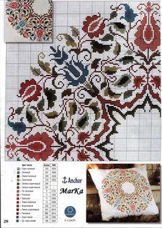 Gallery.ru / Фото #32 - PILLOWS 1 - aaadelayda aaadelayda, stitch pillow, galleryru, pattern, crossstitch, broderi, punto de cruz, cross stitches, embroideri