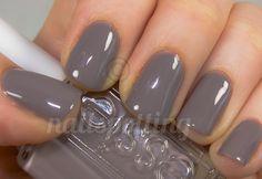 Gunmetal gray nails