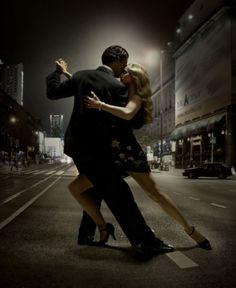 Dance Salsa in the Street