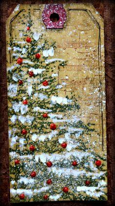 Les bricos de Franco! christma tag, tree tag, christma tree, christmas trees, beauti tag