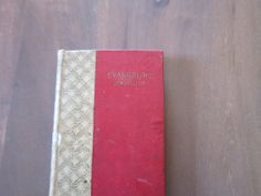 Antique Book Longfellows Evangeline by PriorMemories on Etsy, $32.50