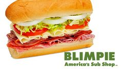 blimpie back in my day they was no subway only blimpie