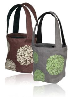 Good For The Earth - Reusable Marigold Bags Made of Jute.